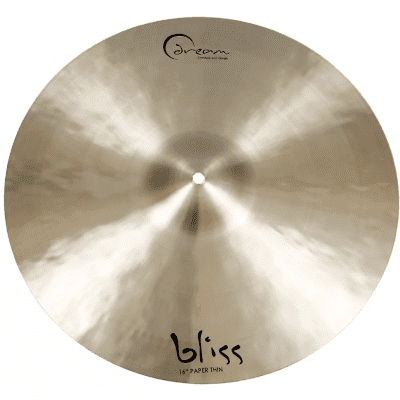 """Dream Cymbals 16"""" Bliss Series Paper Thin Crash Cymbal"""