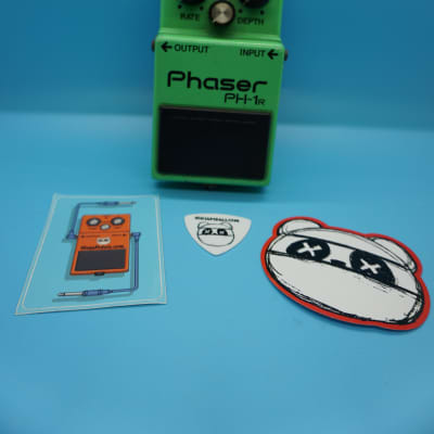 Boss PH-1R Phaser | Rare Silver Screw (Made in Japan) Black Label | Fast Shipping!