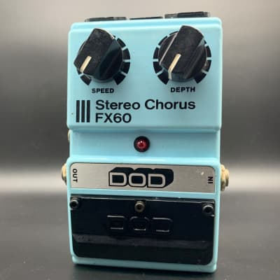 DOD Stereo Chorus FX60! All Analog Vintage 1983! for sale