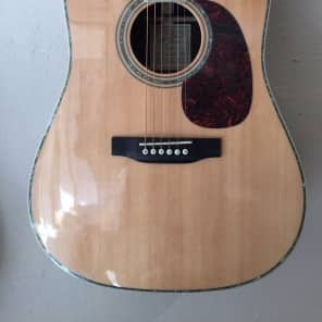 """Recording King RD-227 """"Torch"""" All Solid Dreadnought Natural Gloss"""
