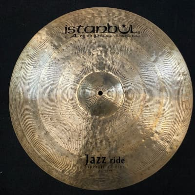 """Istanbul Agop 22"""" Special Edition Jazz Ride Cymbal - 2276g"""