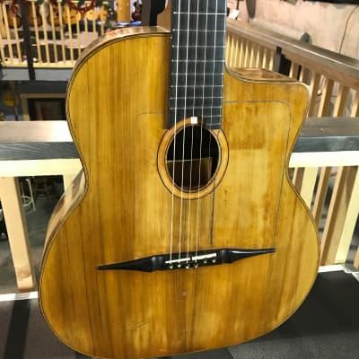 Michael Dunn Maccaferri Guitar #100 w/Interior Resonator 1971 for sale