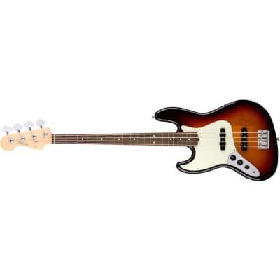 Fender American Professional Jazz Bass left hand, 3 Colour Sunburst, Rosewood for sale