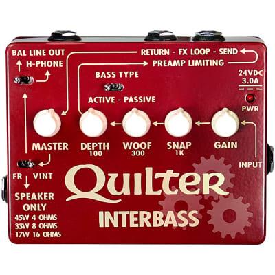 Quilter Labs InterBass 45W Bass Amp Pedal Regular