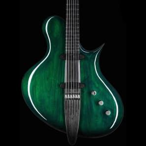 Preowned Ritter Instruments PJS Guitar in Stolen Emerald Green - Häussel Pickups for sale