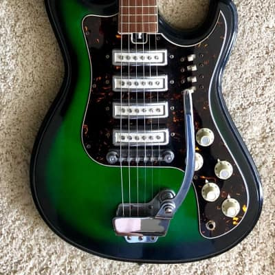 Kimberly 4pu  Green burst for sale