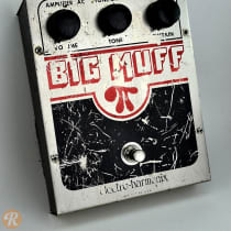 Electro-Harmonix Big Muff Pi V5 (Op Amp Tone Bypass) Late 1970s Silver image