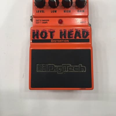 Digitech DHH Hot Head Distortion Overdrive Guitar Effect Pedal for sale