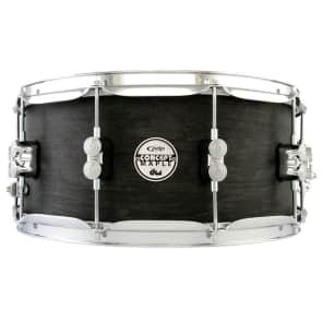 PDP PDSN6514BWCR 6.5X14 Black Wax 10 Ply Maple Snare Drum