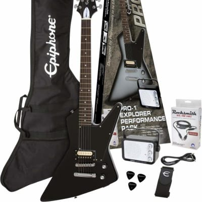 EPIPHONE Pro-1 Explorer Pack Ebony for sale
