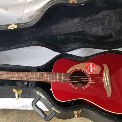 Fender California Series Malibu Player Acoustic-Electric w/ Hard Case
