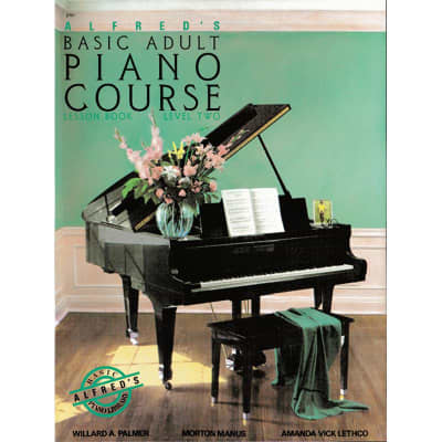 Alfred's Basic Adult Piano Course: Lesson Book - Level 2