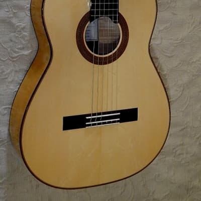 2018 Douglass Scott Spruce maple classical guitar / elevated fretboard for sale