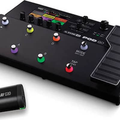 Line 6 POD® Go Wireless Guitar Multi-effects Floor Processor