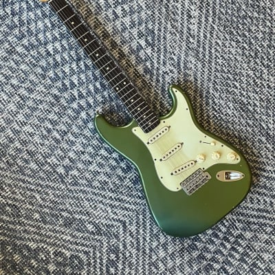 Danocaster Double Cut Sherwood Green for sale