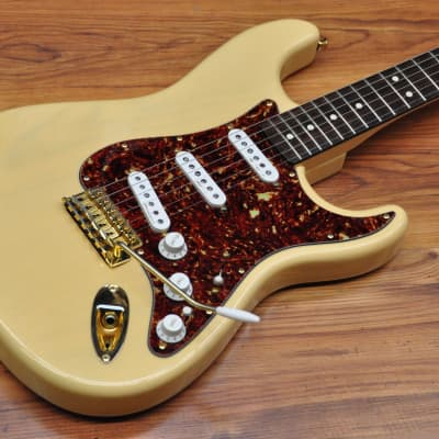 Fender Deluxe Player Stratocaster RW 2011 Blonde Transparent for sale