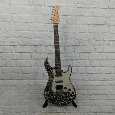 Pearl River Crackle Finish HSS Guitar for sale