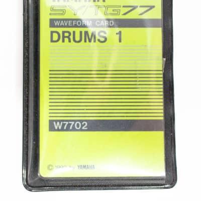 Yamaha SY/TG77 W7702 Waveform Card Drums 1