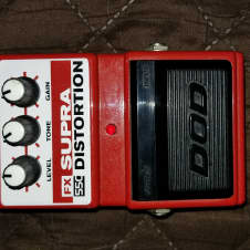 DOD FX550 SUPRA DISTORTION   Red