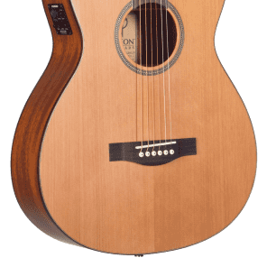 Teton STG105CENT-TF 12-Fret Grand Concert with Electronics Natural