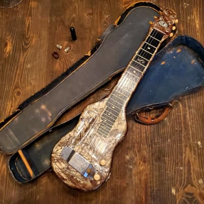 1930s 1940s Bronson Leilani Lap Steel for sale