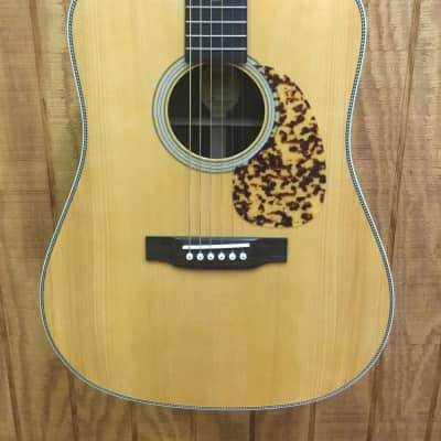 Blueridge BR-160A Adirondack Top Craftsman Series Dreadnought Acoustic Guitar Natural with guardian wood hardshell case for sale