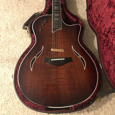 Taylor T5 Custom Thin Body Acoustic Electric Guitar 2016 Koa for sale