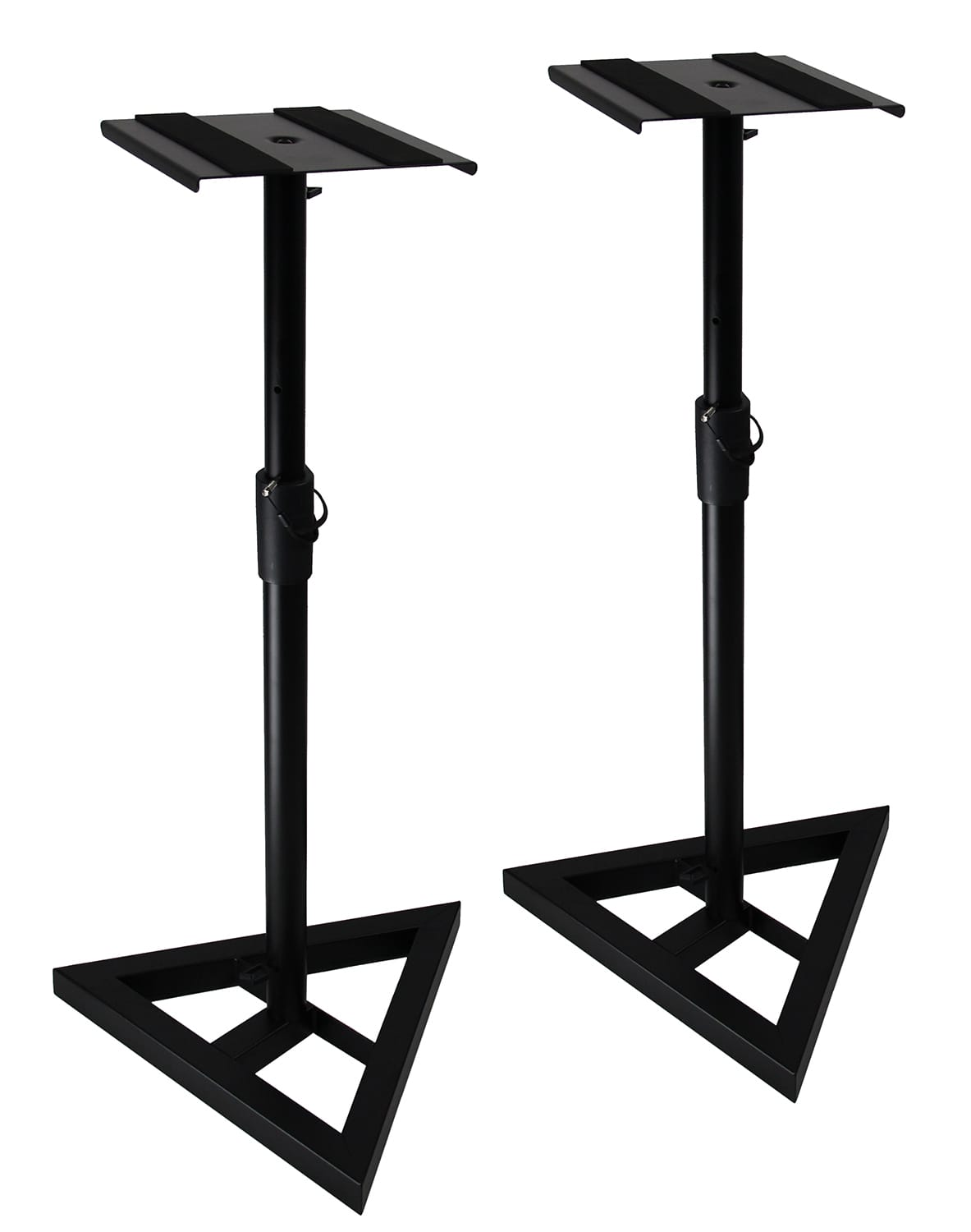 gearlux heavy duty studio monitor stands austin bazaar reverb. Black Bedroom Furniture Sets. Home Design Ideas