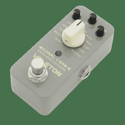 Valeton CRV-2 Coral Verb Reverb Modeler (mini pedal)