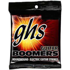 GHS GB101/2 Boomers Roundwound Electric Guitar Strings - Light (10.5-48)