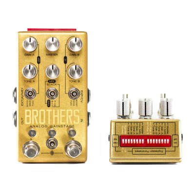 NEW! Chase Bliss Brothers Analog Gain Stage - Overdrive Boost Fuzz Pedal