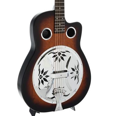 Beard Copper Mountain Resonator Guitar & Gigbag, Roundneck for sale
