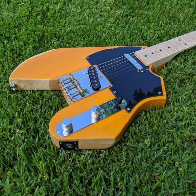 Telecaster Style Douglas USA Electric Guitar, Fender USA Pickups and Saddles, Partscaster for sale
