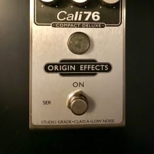 Origin Effects Cali76 Compact Deluxe Compressor - Cali76-CD Silver