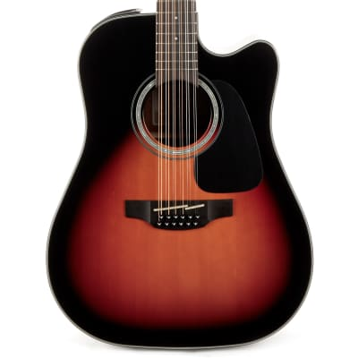 Takamine GD30CE Dreadnought Acoustic Electric 12 String - Brown Sunburst