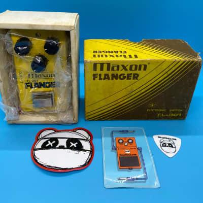 Vintage Maxon FL-301 Flanger w/Original Box | Rare 1970s  (Made in Japan) | Fast Shipping!