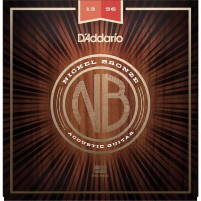 D'Addario NB1356 13-56 Nickel Bronze Medium Acoustic Strings