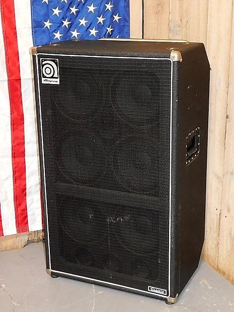 ampeg svt 610hlf 6x10 600 watt bass cabinet with horn reverb. Black Bedroom Furniture Sets. Home Design Ideas