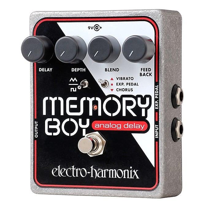 Electro-Harmonix EHX Memory Boy Analog Delay / Chorus / Vibrato Effects Pedal