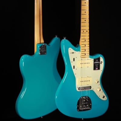 Fender American Professional II Jazzmaster - Miami Blue w/Maple Neck & Hardshell Case for sale