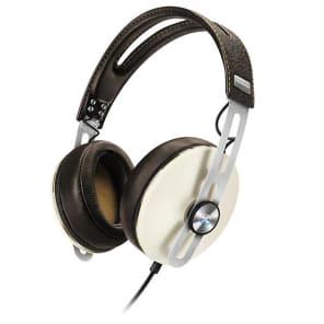 Sennheiser M2-AEI-IVORY Momentum 2 Over-Ear Closed-Back Headphones for iOS Devices