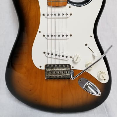 Fender 1994 40th Anniversary Stratocaster Electric Guitar, 2-Tone Sunburst, W/Case for sale