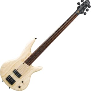 Ibanez Gary Willis Signature GWB1005 5 String Electric Bass Natural Flat for sale