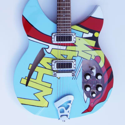 Rickenbacker  330  Special WHAAM artwork