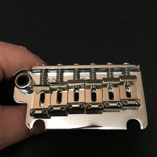 CHROME NEW Gotoh 510T-SF1 Non-locking 2 Point Tremolo Bridge w// Hardware