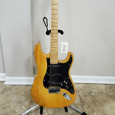 Fender Lite Ash Stratocaster MIK 2004 Natural - Heavily Upgraded for sale