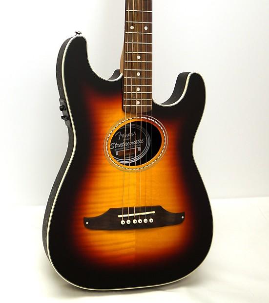 Musical Instruments & Gear Acoustic Electric Guitars Cheap Price Fender Stratacoustic Sunburst 6 String Acoustic Electric Guitar Sunburst Latest Fashion