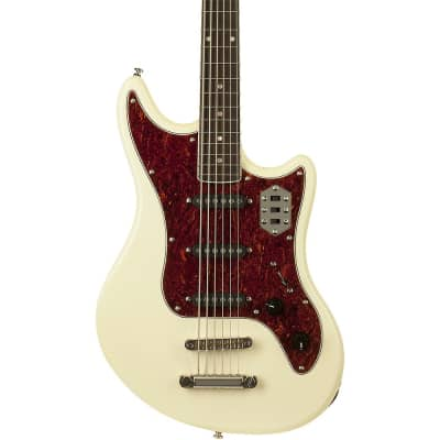 Schecter Guitar Research Hellcat VI Extended Range Electric Guitar Regular Ivory for sale