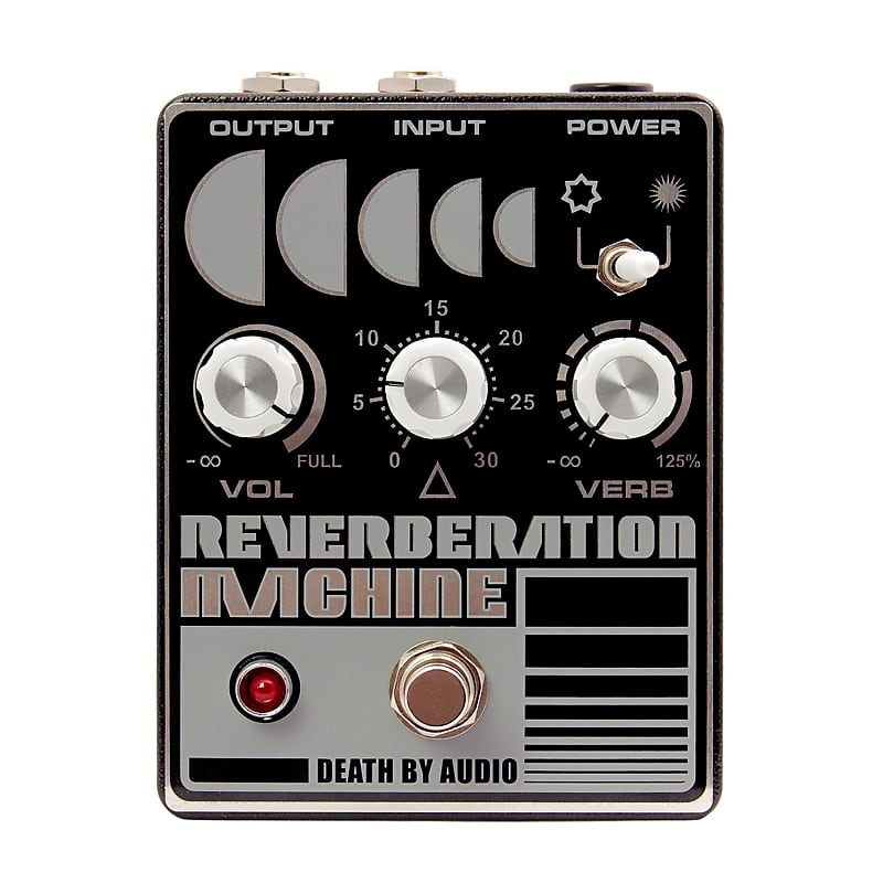 Death By Audio DBA Reverberation Machine Reverb Effects Pedal