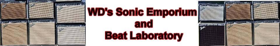 WD's Sonic Emporium and Beat Laboratory
